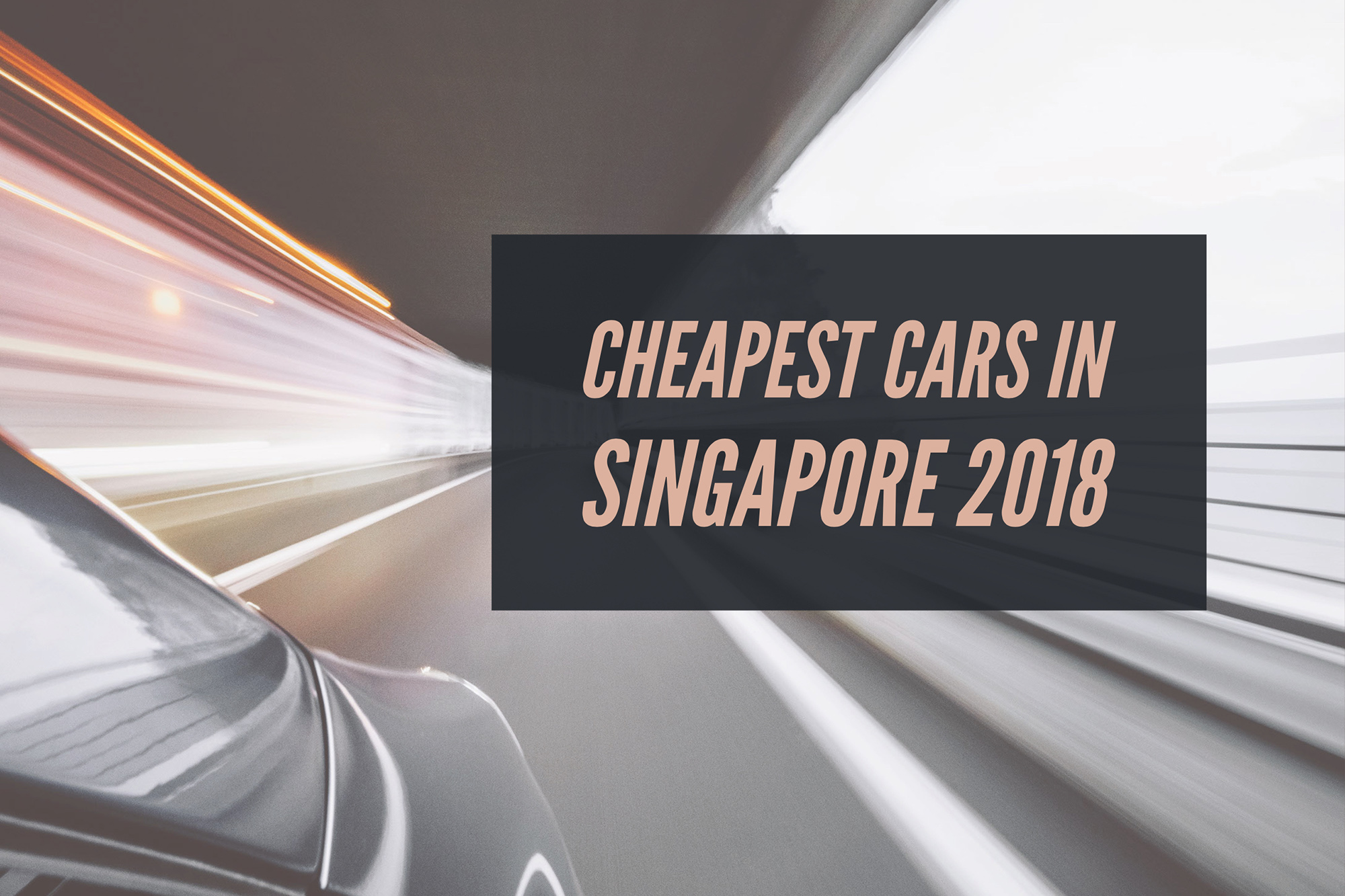 2018 Edition] Best Value For Money Cars In Singapore